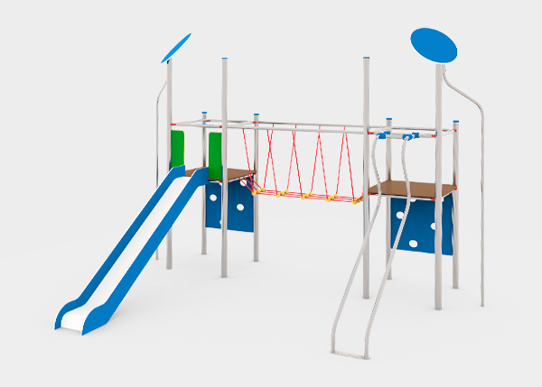 Playground equipment ,Fly Line ,PFC5 SILBO