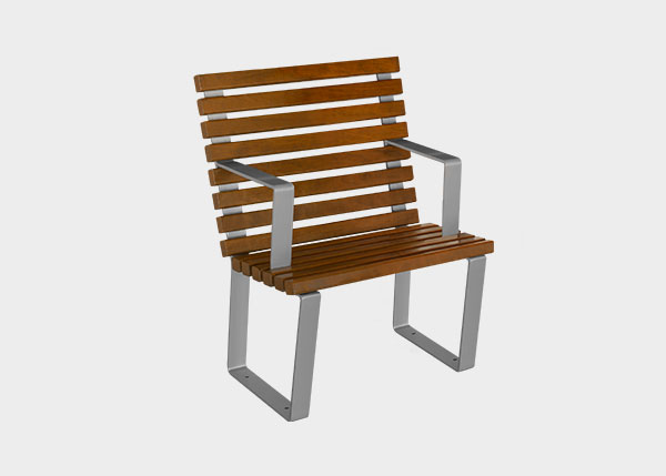 Site Furnishing ,Benches ,UB12S Chair Egeo