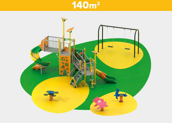 Playground equipment ,Play areas ,AL140 AL140 play area
