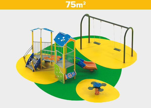 Playground equipment ,Play areas ,AL75 AL75 play area