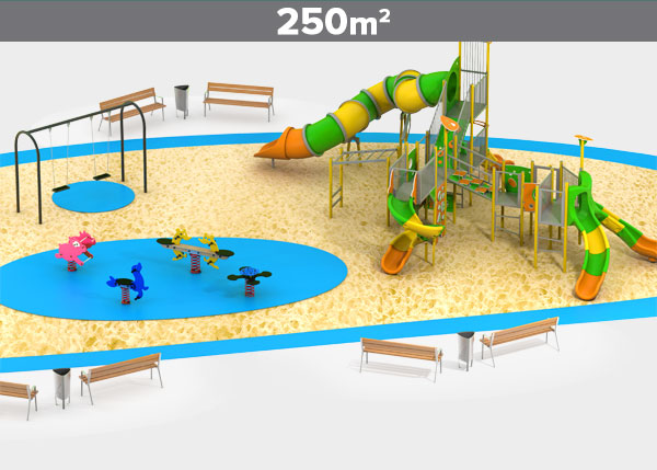 Playground equipment ,Play areas ,ALUMINIO11 Aluminio 11 play area