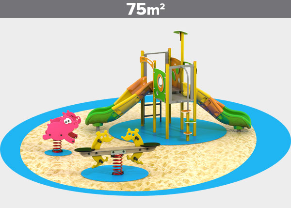 Playground equipment ,Play areas ,ALUMINIO4 Aluminio 4 play area