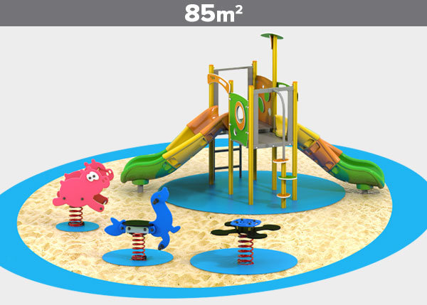 Playground equipment ,Play areas ,ALUMINIO6 Aluminio 6 play area