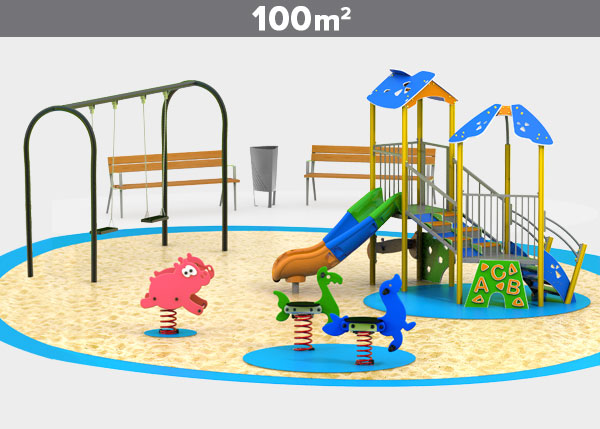 Playground equipment ,Play areas ,ALUMINIO7 Aluminio 7 play area