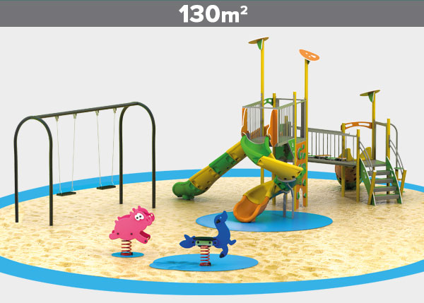 Playground equipment ,Play areas ,ALUMINIO8 Aluminio 8 play area