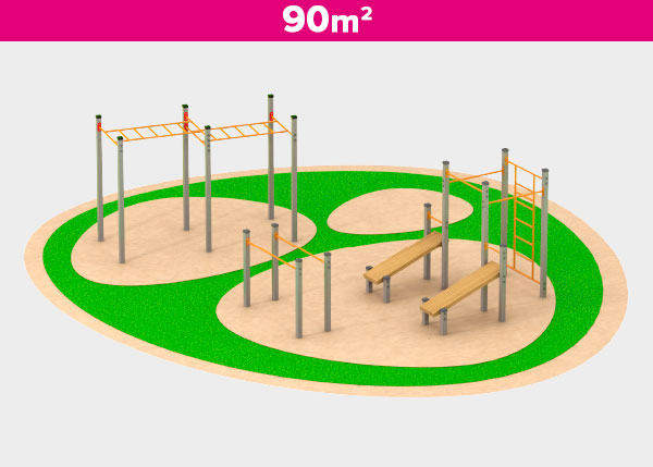 Playground equipment ,Play areas ,AST90 AST90 play area
