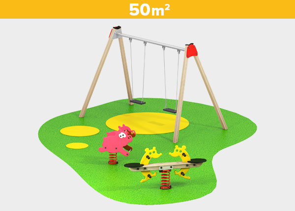 Playground equipment ,Play areas ,BASICA6 Basica 6 play area