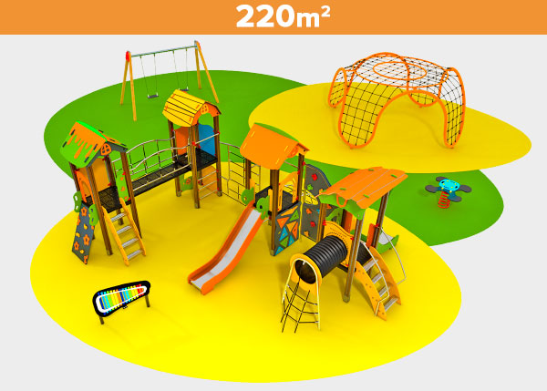 Playground equipment ,Play areas ,CUATRO Cuatro play area