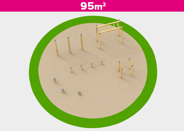 Playground equipment ,Play areas ,DEPORTIVA4 Deportiva 4 play area