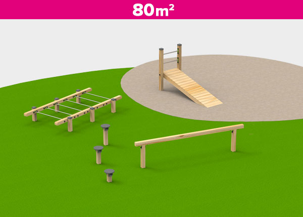 Playground equipment ,Play areas ,DEPORTIVA5 Deportiva 5 play area