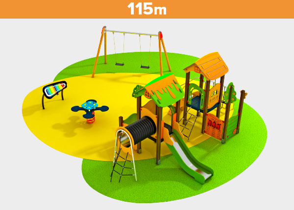 Playground equipment ,Play areas ,DOS Dos play area