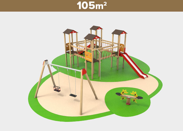 Playground equipment ,Play areas ,I105 I105 play area