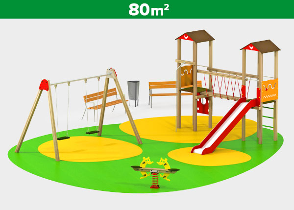 Playground equipment ,Play areas ,INDI2 Indi 2 play area