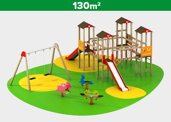 Playground equipment ,Play areas ,INDI3 Indi 3 play area