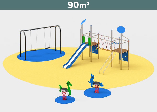 Playground equipment ,Play areas ,INOX4 Inox 4 play area