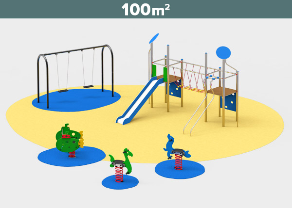 Playground equipment ,Play areas ,INOX5 Inox 5 play area