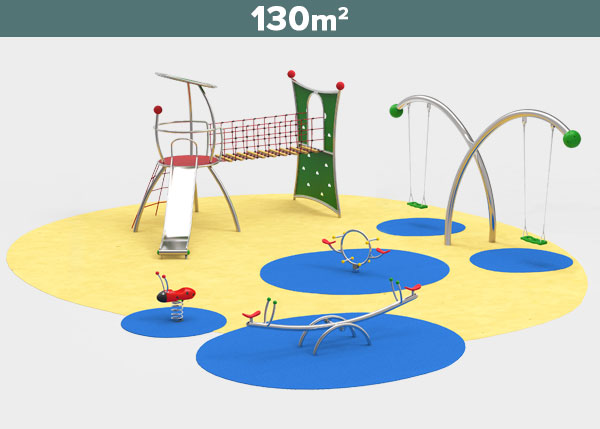 Playground equipment ,Play areas ,INOX6 Inox 6 play area