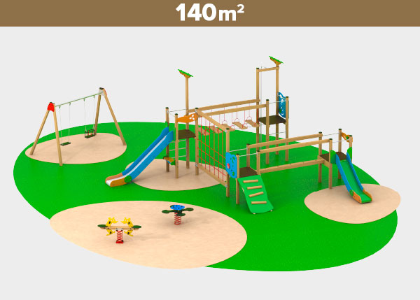 Playground equipment ,Play areas ,M140 M140 play area
