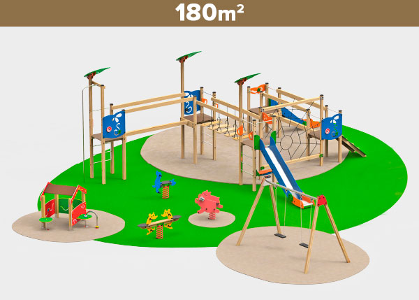 Playground equipment ,Play areas ,M180 M180 play area