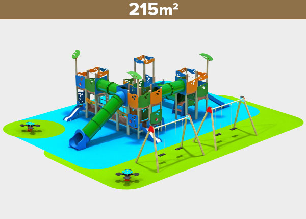 Playground equipment ,Play areas ,M215 M125 play area