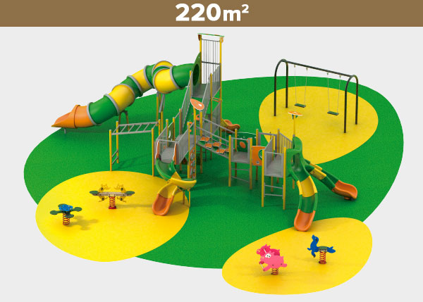 Playground equipment ,Play areas ,M220 M220 play area