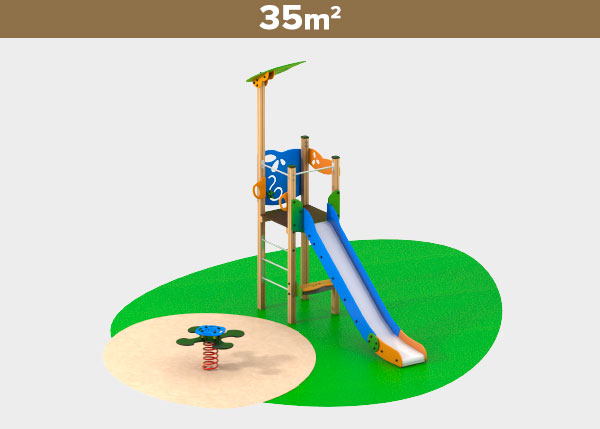 Playground equipment ,Play areas ,M35 M35 play area
