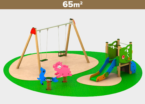 Playground equipment ,Play areas ,M65A M65A play area
