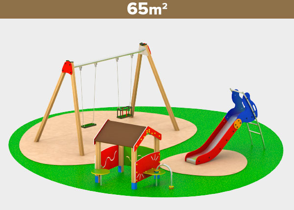 Playground equipment ,Play areas ,M65B M65B play area