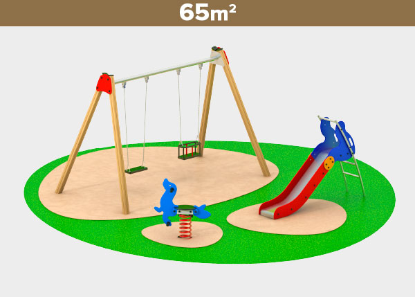 Playground equipment ,Play areas ,M65C M65C play area