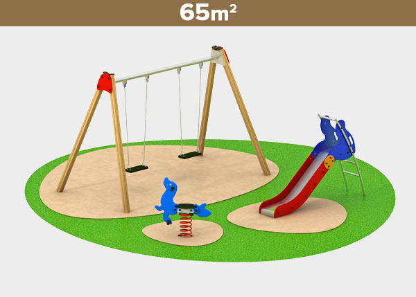 Playground equipment ,Play areas ,M65D M65D play area