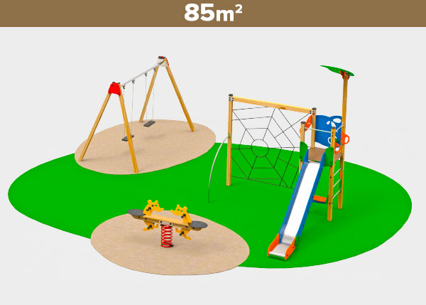Playground equipment ,Play areas ,M85 M85 play area