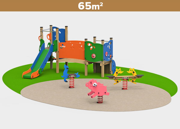 Playground equipment ,Play areas ,MADERA3 Madera 3 play area