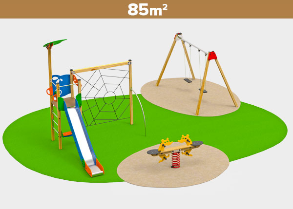 Playground equipment ,Play areas ,MADERA5 Madera 5 play area