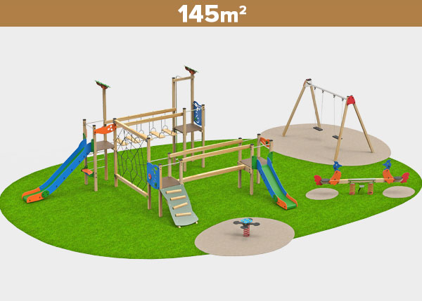Playground equipment ,Play areas ,MADERA6 Madera 6 play area
