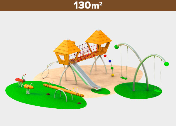 Playground equipment ,Play areas ,R130 R130 play area