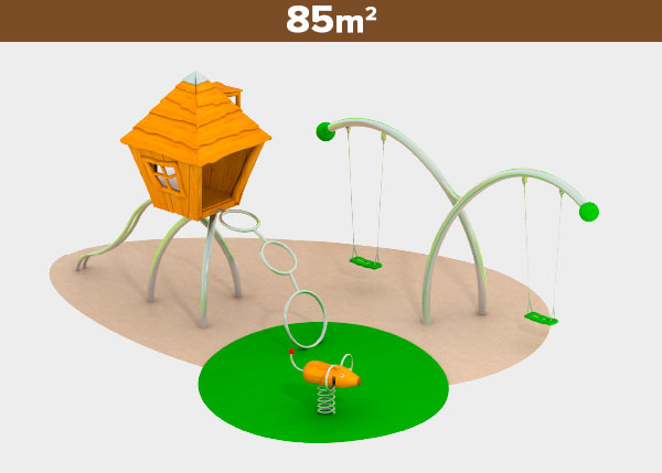 Playground equipment ,Play areas ,R85 R85 play area