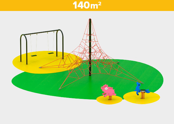 Playground equipment ,Play areas ,RE140 RE140 play area