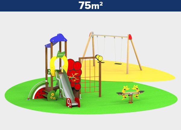 Playground equipment ,Play areas ,SALUD Salud play area