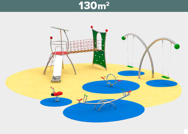 Playground equipment ,Play areas ,ST130 ST130 play area