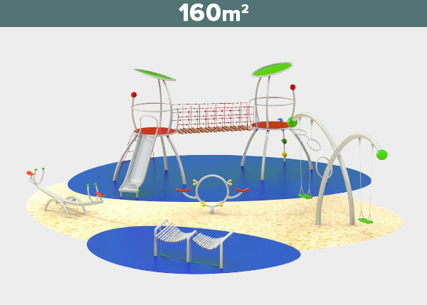 Playground equipment ,Play areas ,ST160 ST160 play area