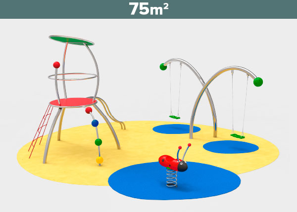 Playground equipment ,Play areas ,ST75 ST75 play area
