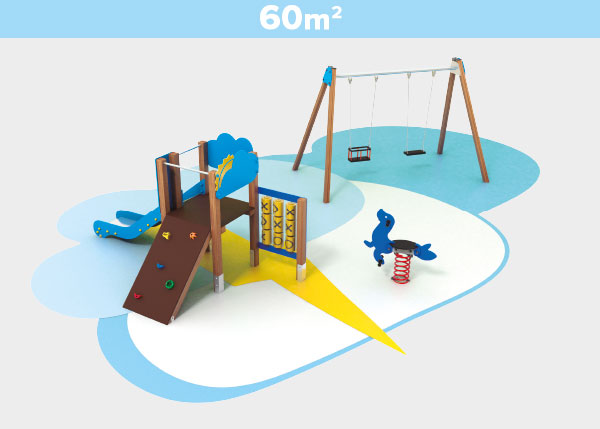 Playground equipment ,Play areas ,TK60A TK60A play area