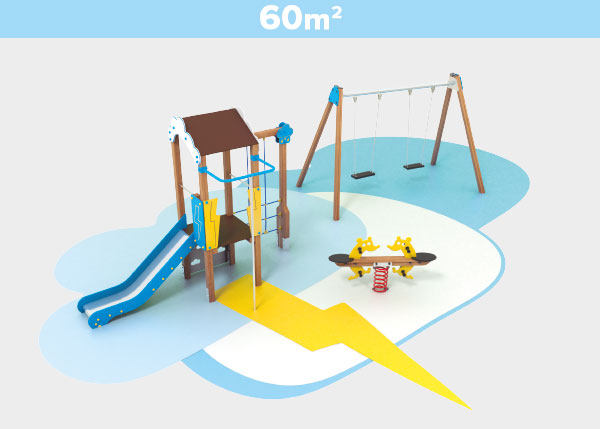 Playground equipment ,Play areas ,TK60B TK60B play area