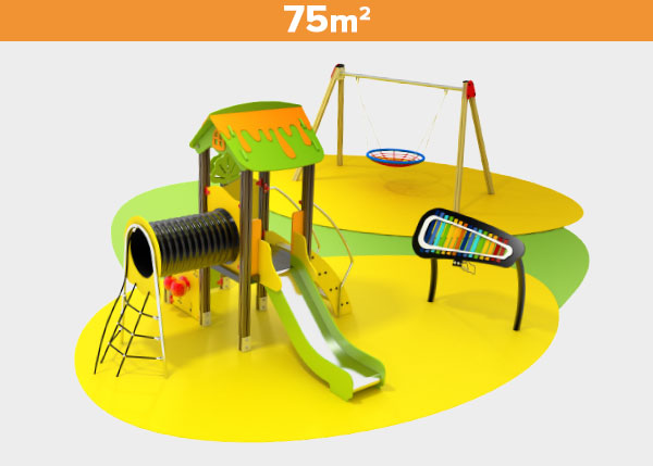 Playground equipment ,Play areas ,UNO Uno play area