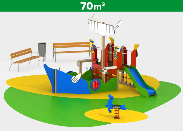 Playground equipment ,Play areas ,VIKING1 Viking 1 play area