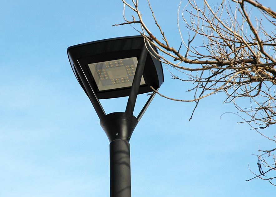 Public lighting with LED luminaires for outdoor lighting , Residential Lighting , ALSL Siena LED Luminaire ,