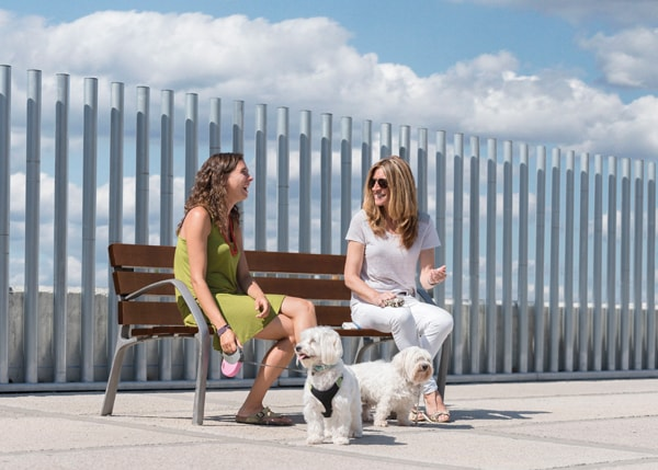 Street furniture with benches, litter bins, bollards, planters and equipment , Benches , UB2 BCN21 bench , BCN21, the bench par excellence of the Urban Furniture range.