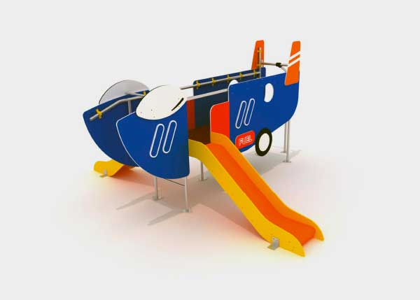 Playground equipment ,Fast Line ,PTC8 Plane