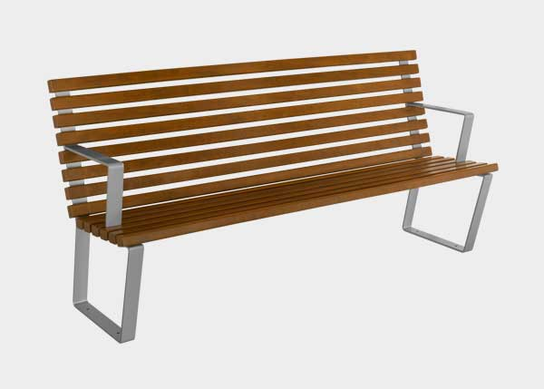 Site Furnishing ,Benches ,UB12 Bench Egeo