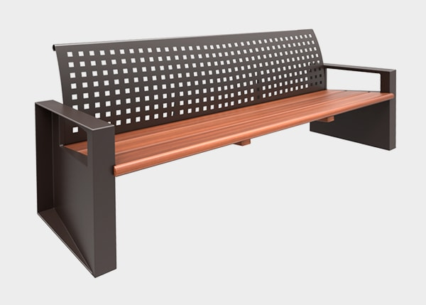 Site Furnishing ,Benches ,UB23 Most Bench